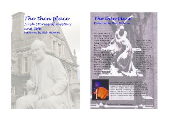 Flyer - the thin place